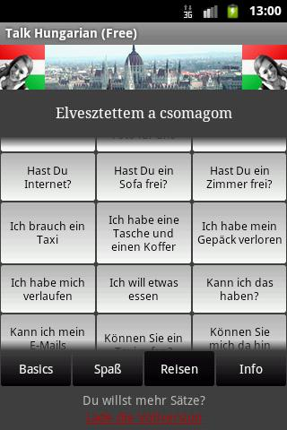 Talk Hungarian (Free) - screenshot