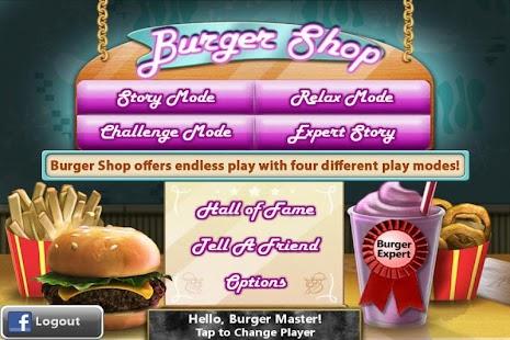 Burger Shop- screenshot thumbnail