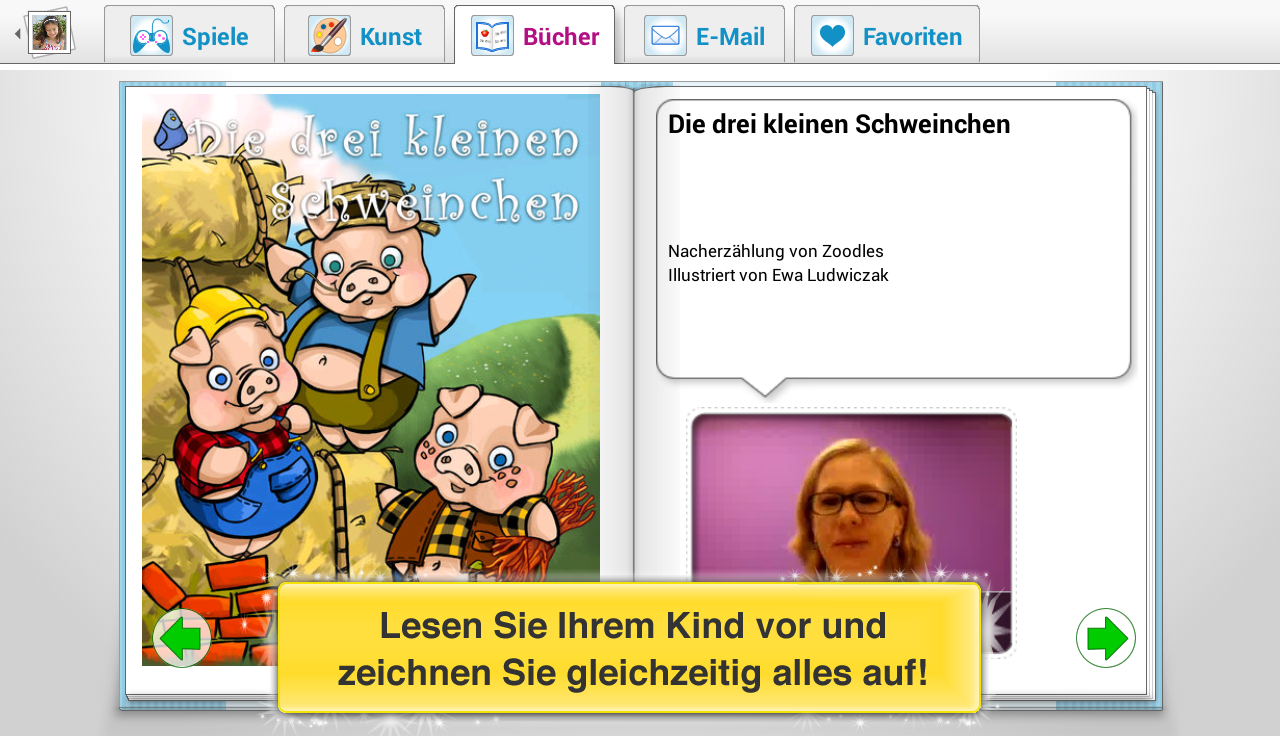 Child-Modus: Spiele + Videos – Screenshot