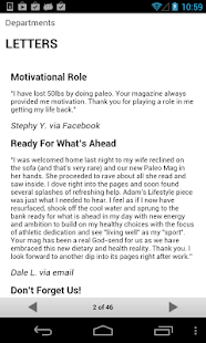 Paleo Magazine - screenshot thumbnail