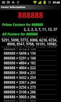 Screenshot of Multiplication Tables Legacy
