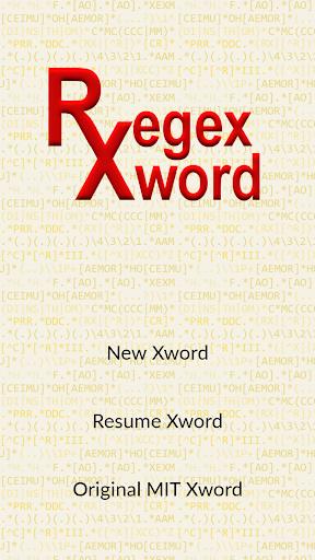 Regex Xword