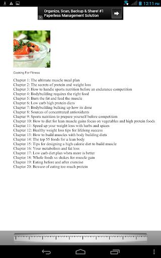 【免費書籍App】Cooking for Fitness-APP點子