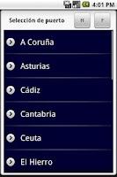 Screenshot of España. Mareas FREE
