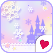 Cute wallpaper★Dreamy Snow