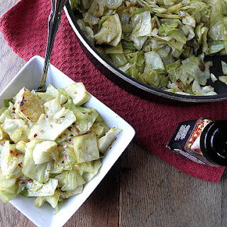 Spiced Cabbage & Onions