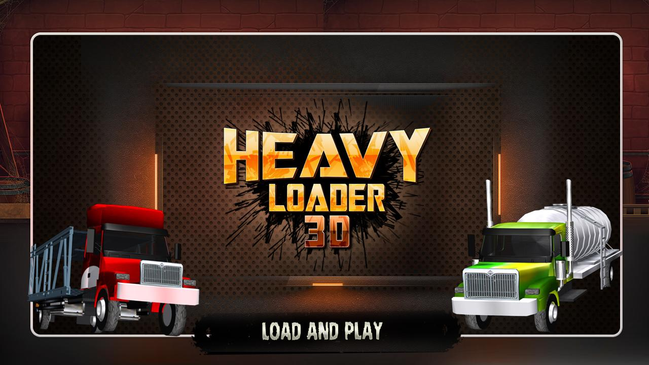 Heavy Loader 3D- screenshot