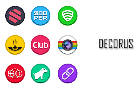 Decorus - Icon Pack v1.0.2