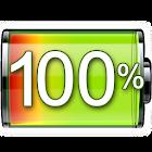 Affiche pourcentage batterie icon