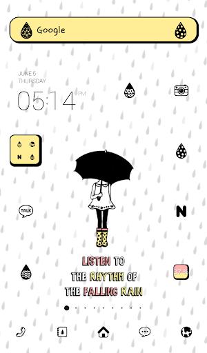 Rainy Day dodol theme