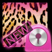 GO Locker Pink Leopard Theme