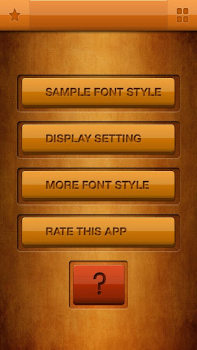 50 Fonts for Samsung Galaxy 13