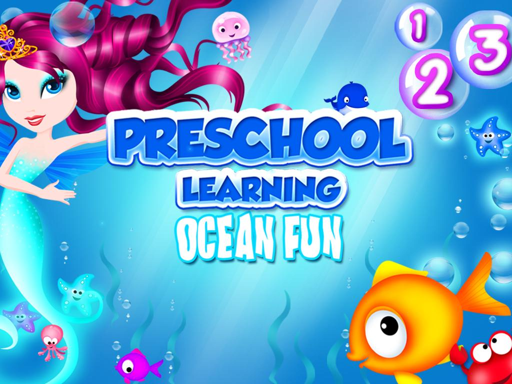 Preschool Learning Mermaid Fun- screenshot