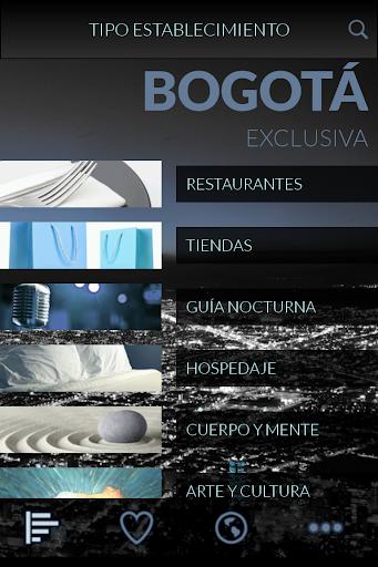 Bogotá Exclusiva Guía VIP