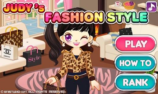 Judy's Fashion Style-Dress Up