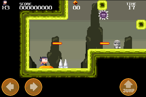 Meganoid- screenshot