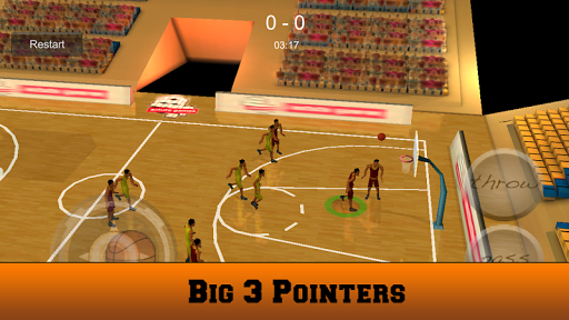 Basketball 3D Shoot Game