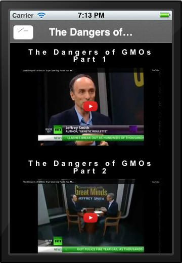 Label GMO - screenshot