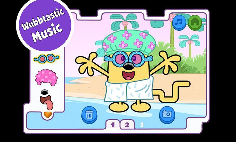 Wubbzy's Kooky Kostume Kreator- screenshot