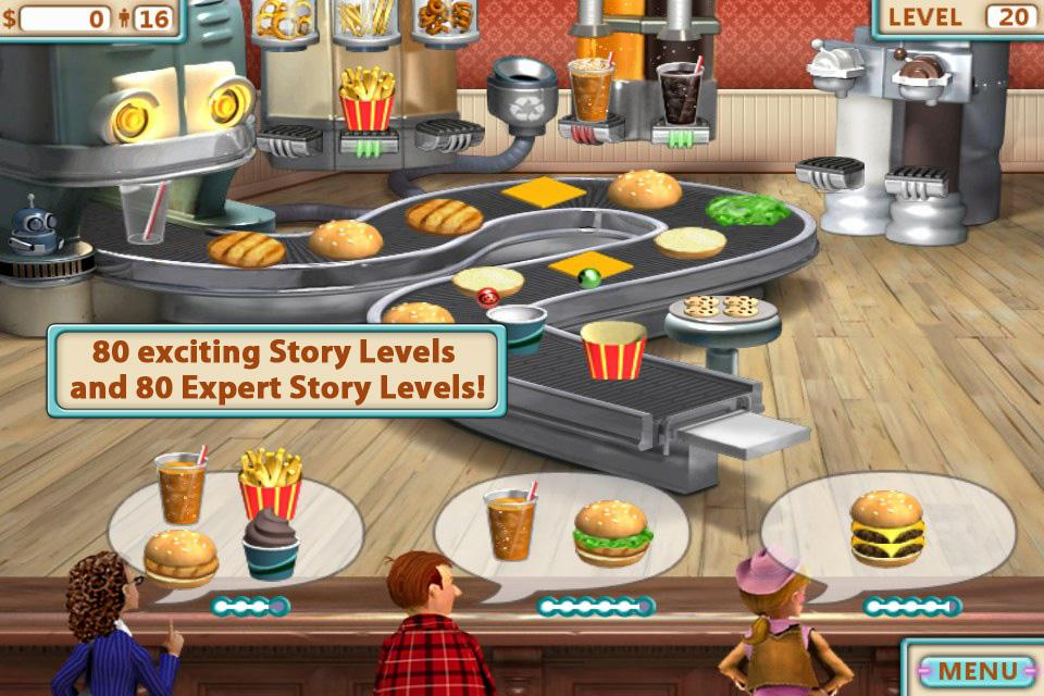 Burger Shop FREE- screenshot