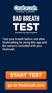 Orabrush Real Bad Breath Test - screenshot thumbnail