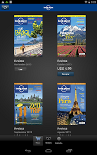 Lonely Planet Argentina screenshot