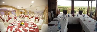 """Salones """"Antag&uuml;eros"""" y """"Altillo""""</br>Banquetes y Eventos"""