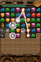 Screenshot of Jewels & Dragon Game
