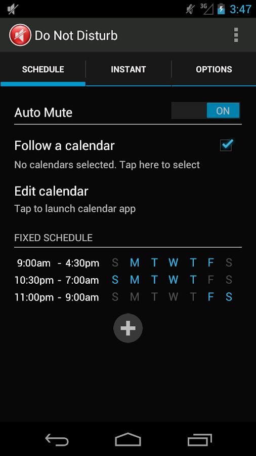 Do Not Disturb - screenshot