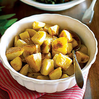 Golden Olive Oil-roasted Potatoes.