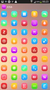 玩個人化App|IOS8 ICONS APEX/NOVA/ADW/GO免費|APP試玩