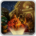christmas crib wallpaper 4 icon