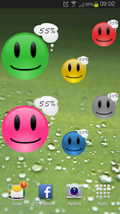 Smiley Battery Pro Widget - screenshot thumbnail