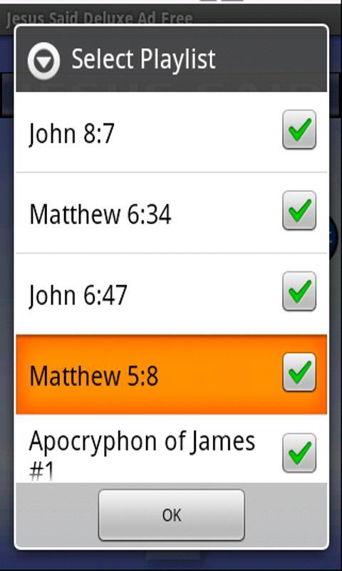 Jesus Said (Ad-Free!)- screenshot