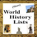 World History Lists #2