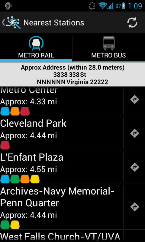 DC Metro Transit - screenshot