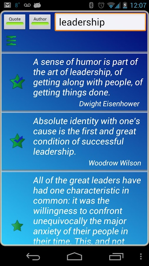 Leadership Quotes - screenshot