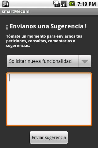 smartMecum- screenshot