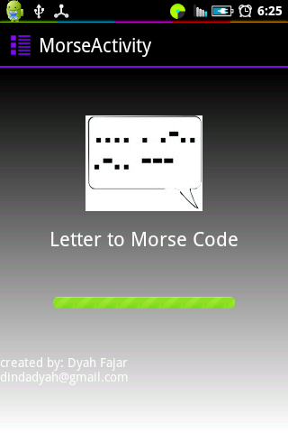 Letter Words to Morse Code v.1