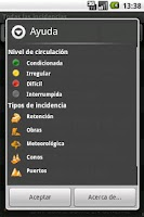 Screenshot of iDGT+