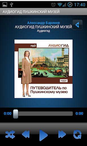 Аудиогид Пушкинский музей