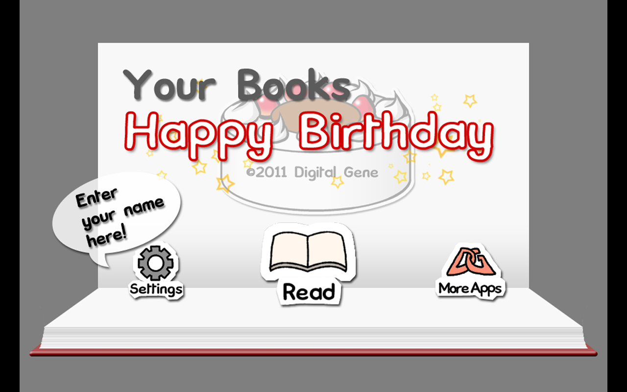 Your Books Happy Birthday- screenshot