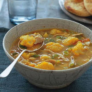 Curried Chicken Soup.