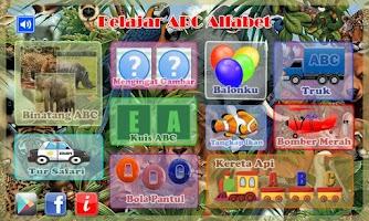 Screenshot of Belajar ABC Alfabet