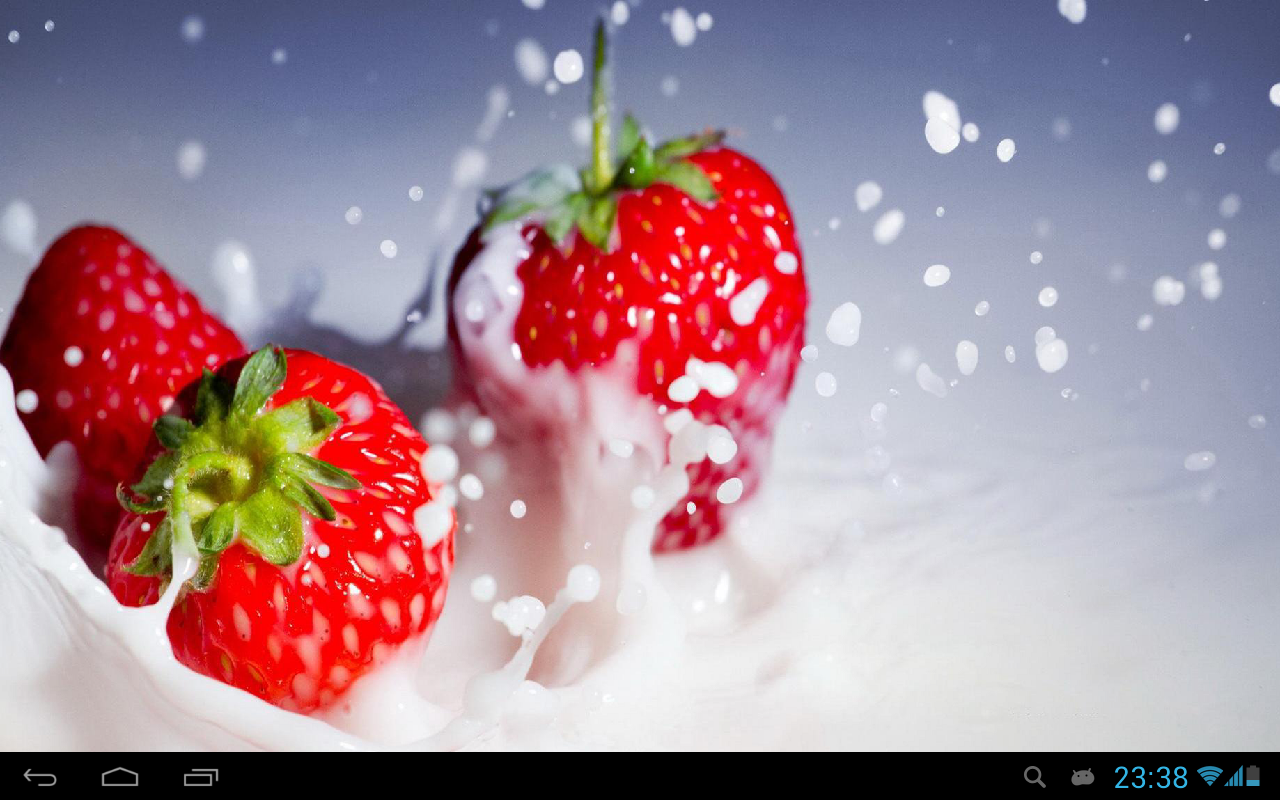 Strawberry Live Wallpaper Android Apps On Google Play