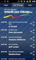 Screenshot of Smooth Jazz Chicago