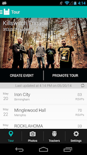 Bandsintown Manager- screenshot thumbnail