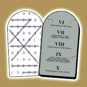 Word Search Ten Commandments