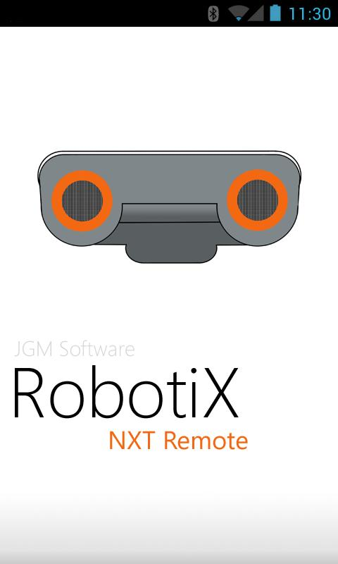 RobotiX Mindstorms NXT Remote - screenshot