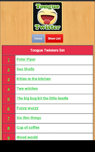 Tongue Twisters- screenshot thumbnail